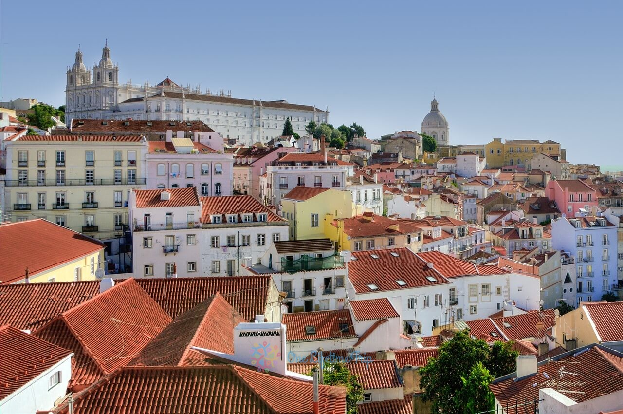 The Alfama district